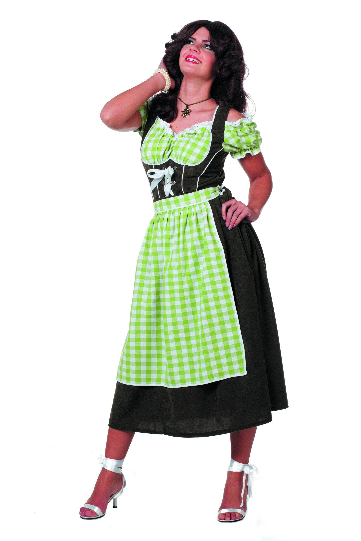 Beierse Dirndl Suedine Vrouw Kostuum