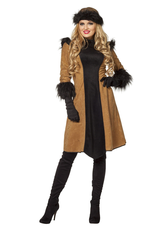 Djengis Khan Russische Dame Vrouw Kostuum