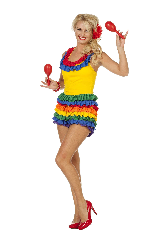 Samba Shaka Brazilia Vrouw Kostuum