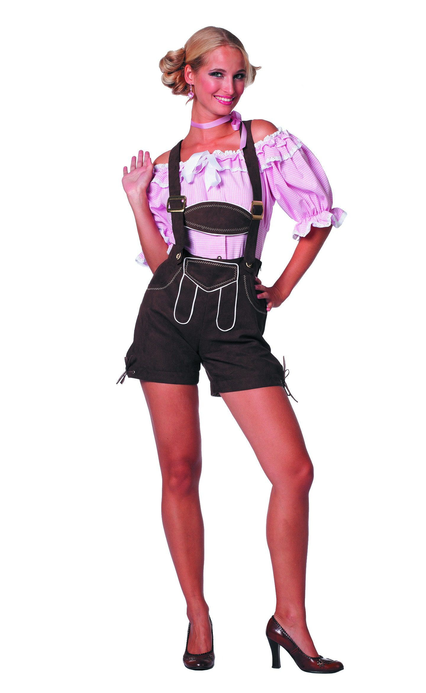 Traditionele Dirndl Blouse Vrouw