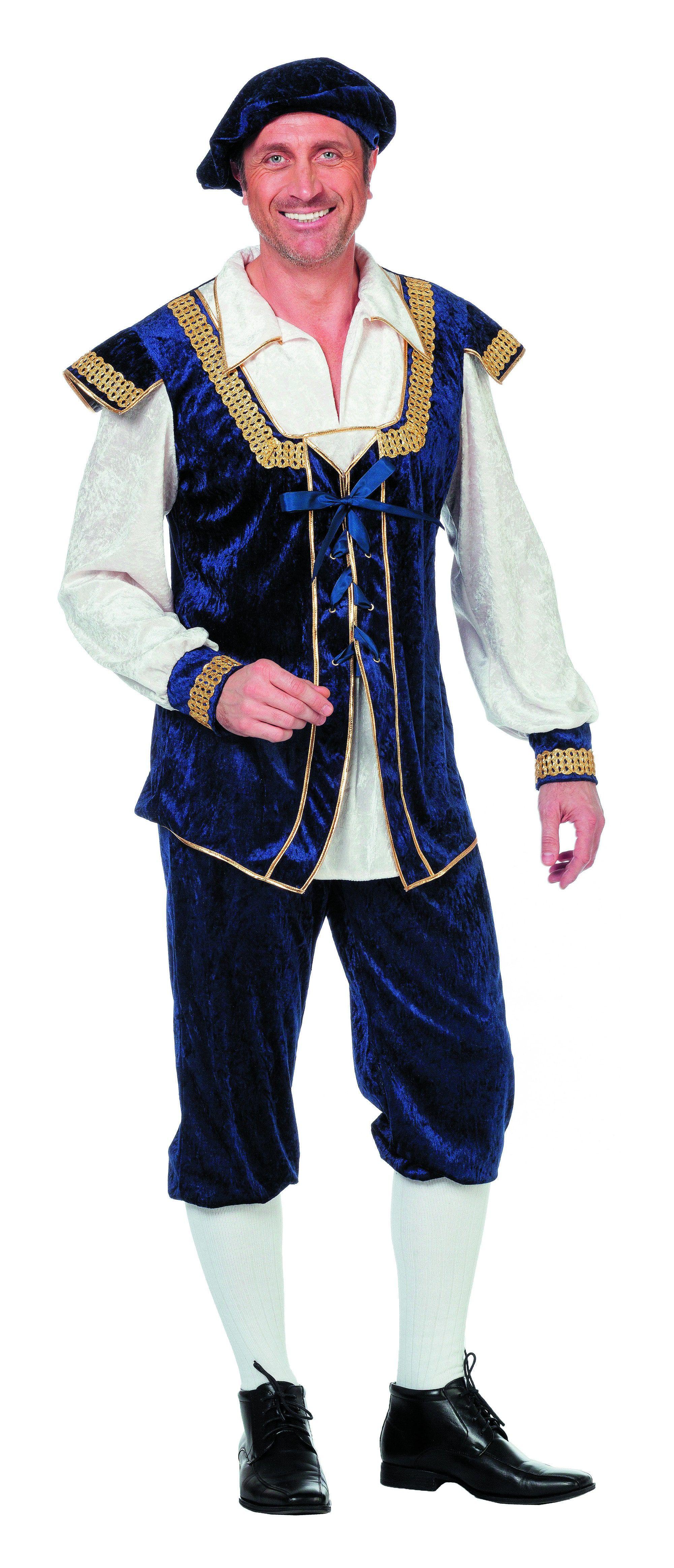Middeleeuwse Burchtheer Man Kostuum