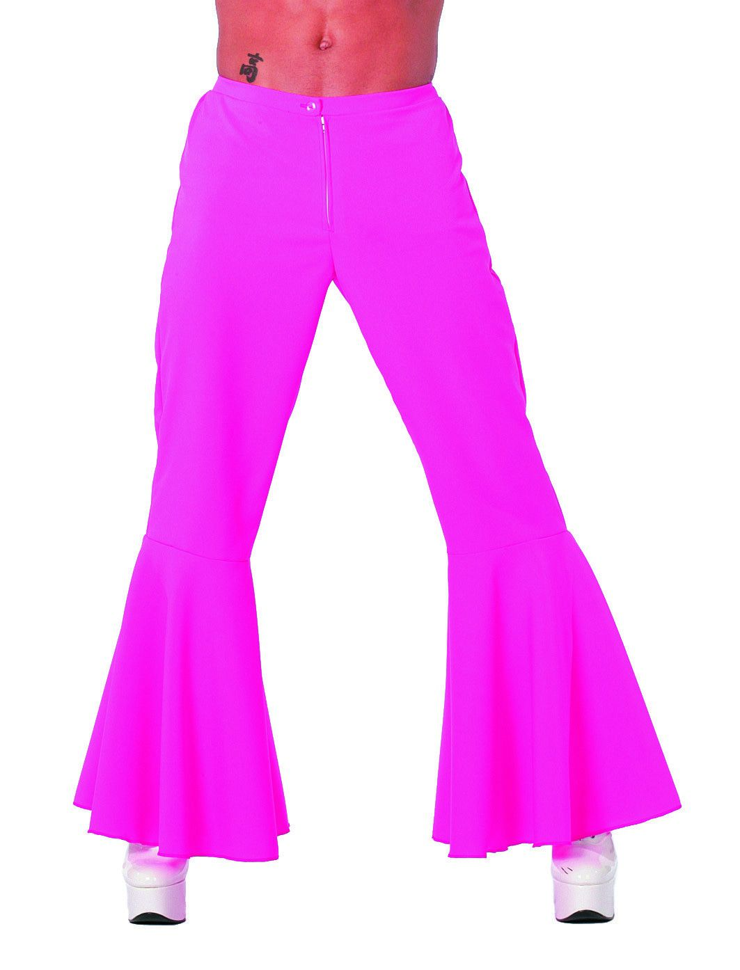 Roze Hippie Broek Bi-Stretch