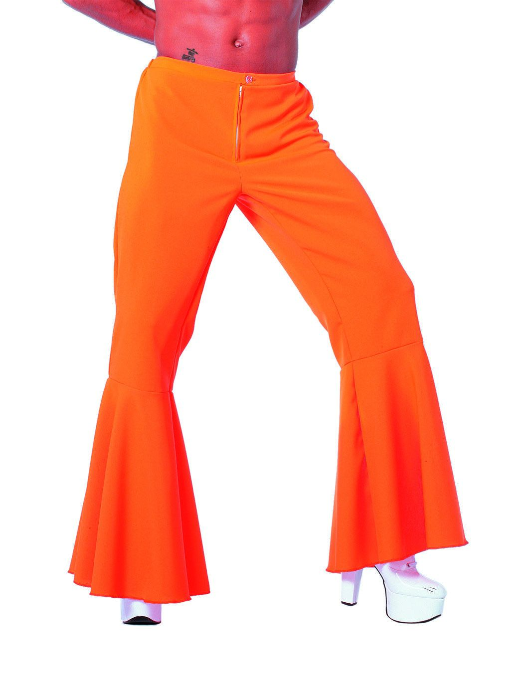 Oranje Hippie Broek Bi-Stretch