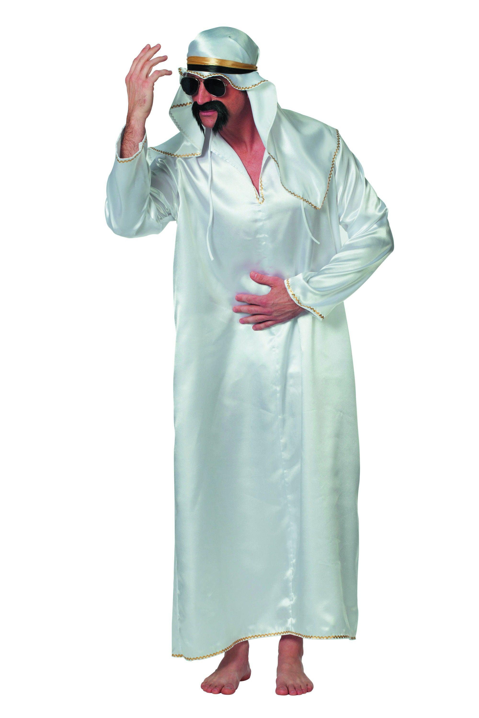 Sjeik De Luxe Abdesalaam Man Kostuum