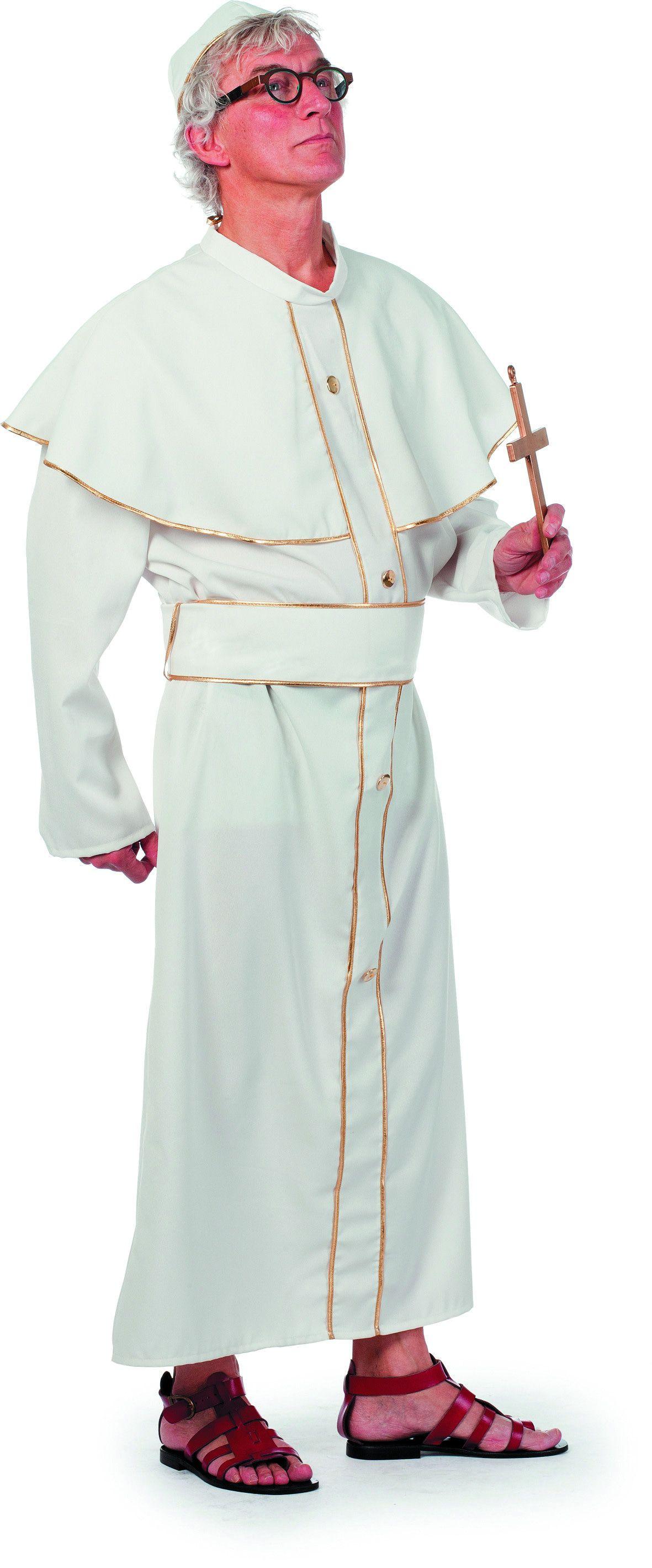 Witte Paus Vaticaan Man Kostuum