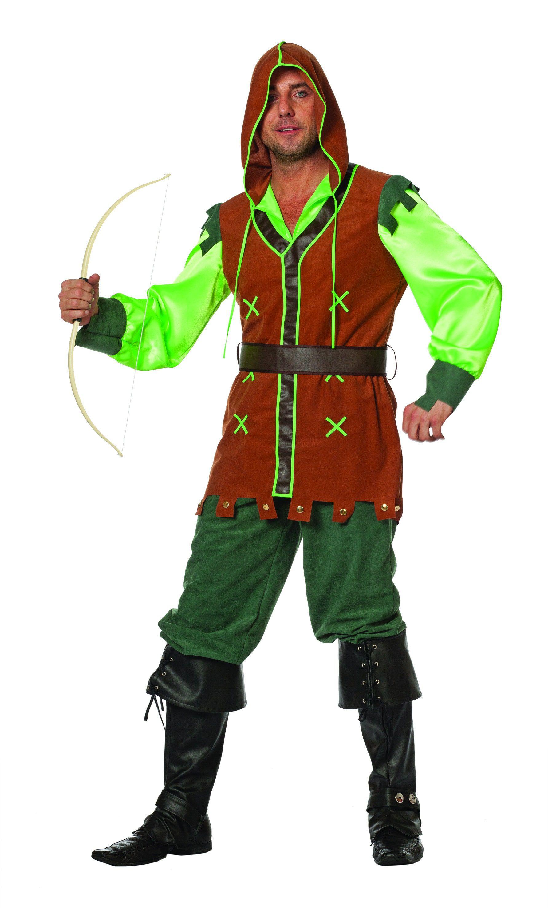 Groene Peter Robin Hood Man Kostuum