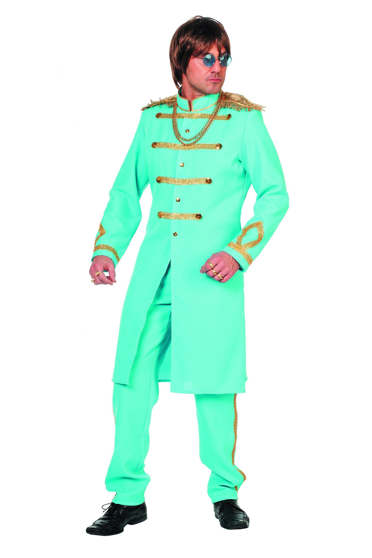 Blauwe Sgt. Pepper Van De Beatles Man Kostuum