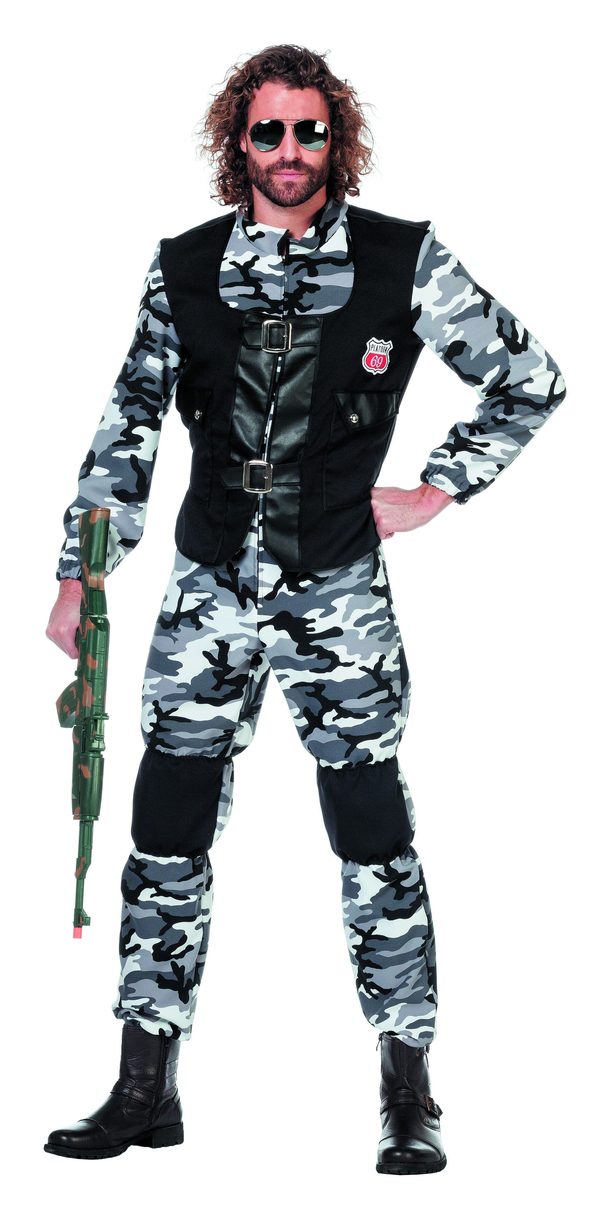 Swat Combat Zone Overall Man Kostuum