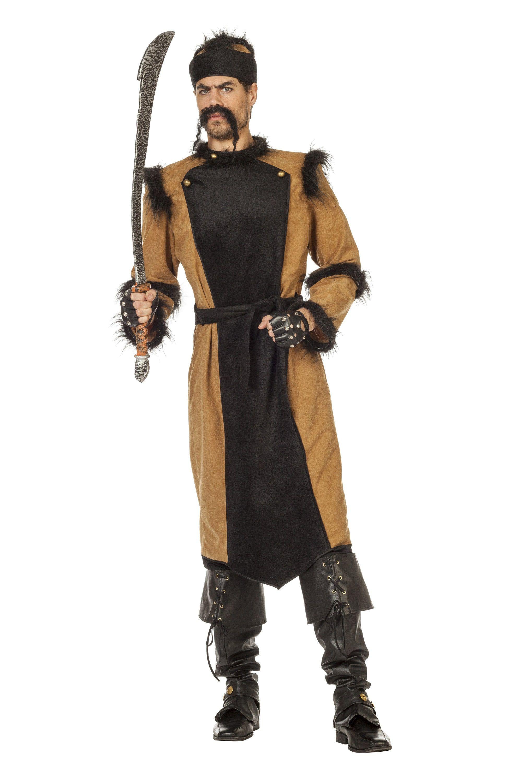 Oorlogszuchtige Djengis Khan Man Kostuum