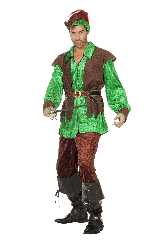 Robin Hood Van Het Woud Man Kostuum