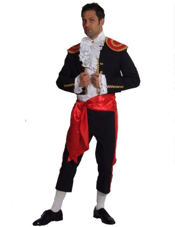 Spaanse Man Kostuum