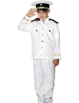 Kapitein Jongen Kostuum