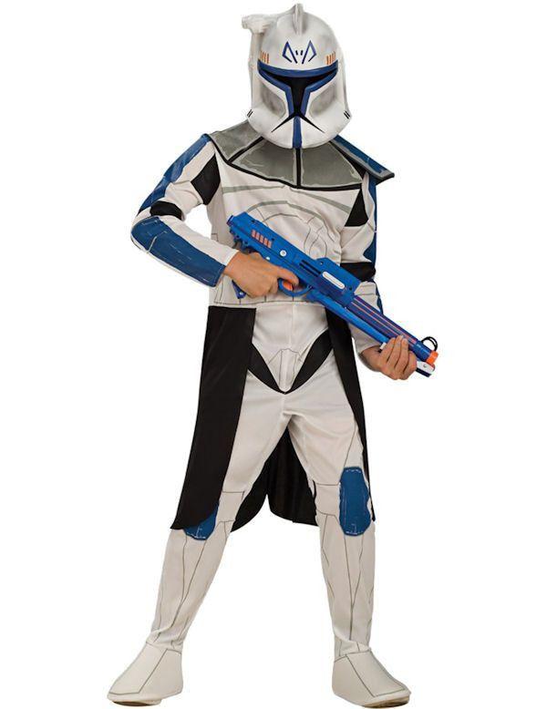 Clone Wars Clone Trooper Leader Rex Jongen Kostuum