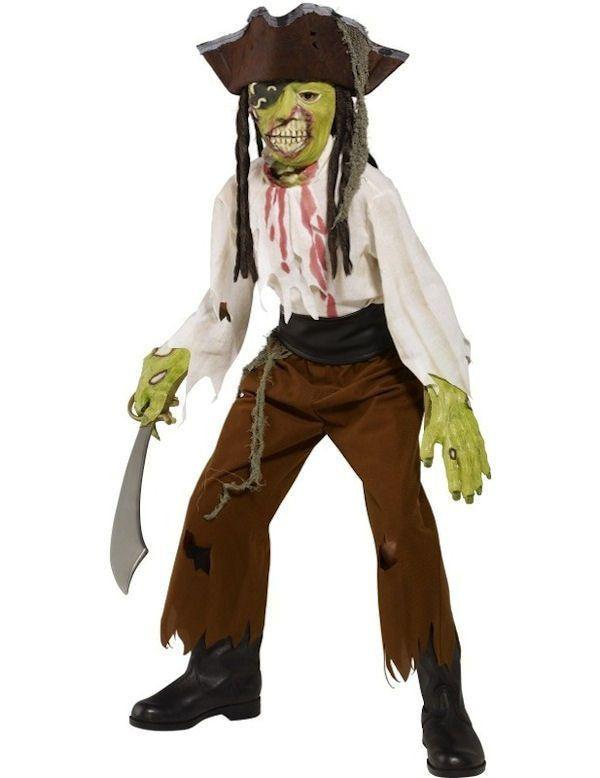 Moordlustige Piraat Halloween Jongen Kostuum