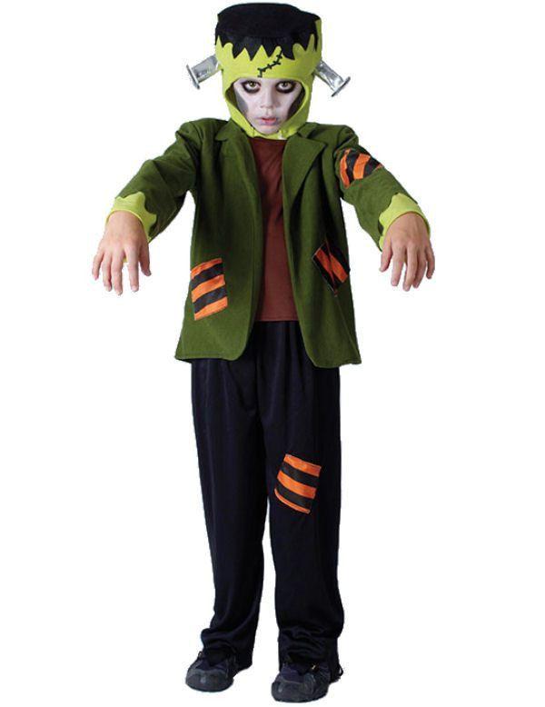Kinder Frankenstein Jongen Kostuum