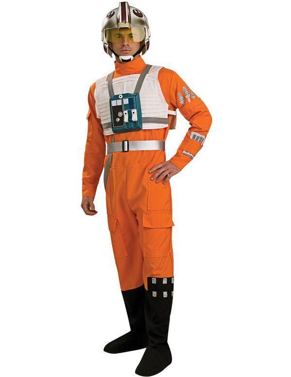 X-Wing Pilot Star Wars Man Kostuum