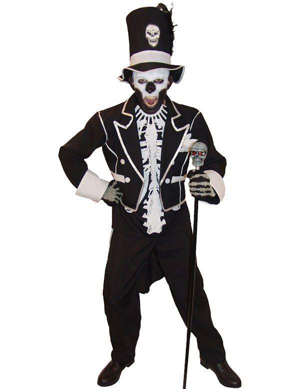 Baron Samedi Halloween Man Kostuum