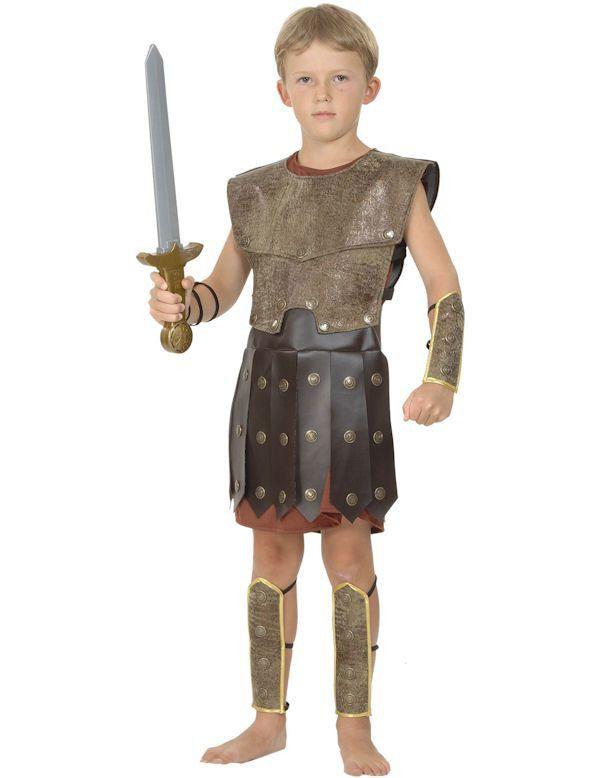 Strijder Jongen Kostuum