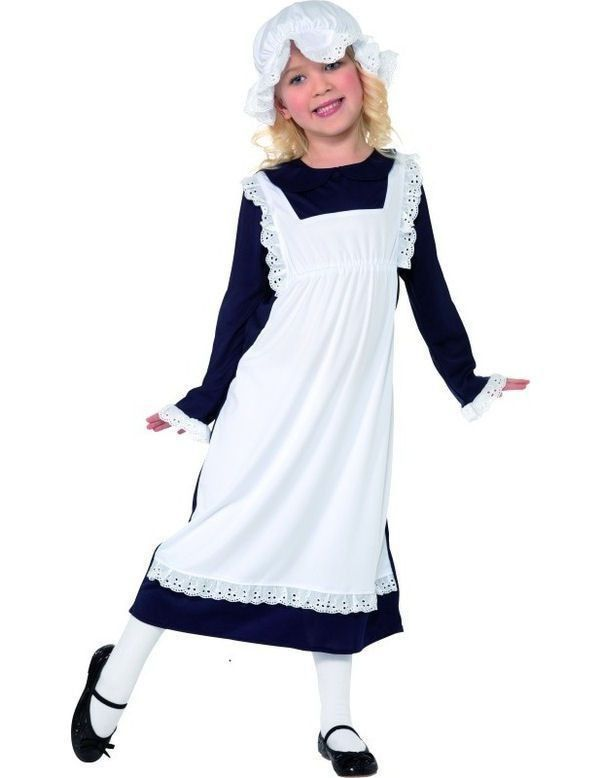 Victoriaanse Arme Meisje Kostuum