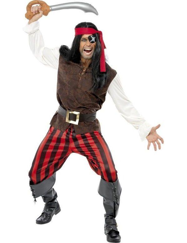 Piraat Scheepsmaatje Man Kostuum