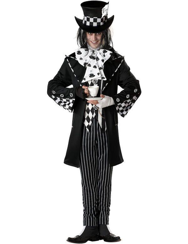 Duistere Mad Hatter Man Kostuum