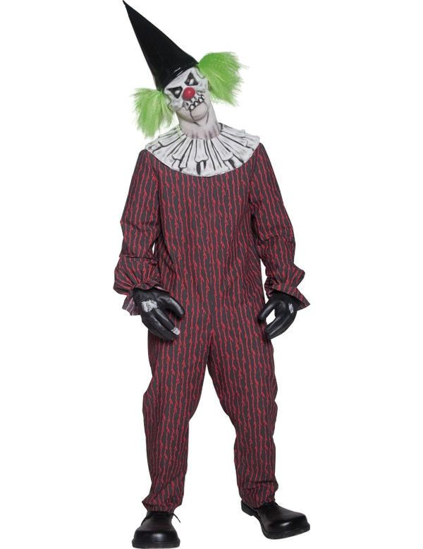 Geschifte Clown Man Kostuum