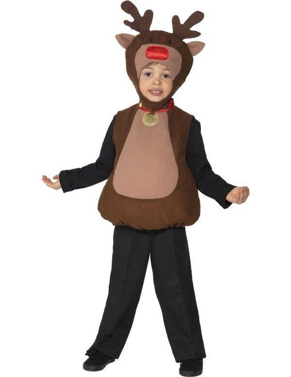 Klein Rendier Kind Kostuum Kind