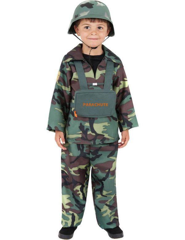 Leger Jongen Kostuum
