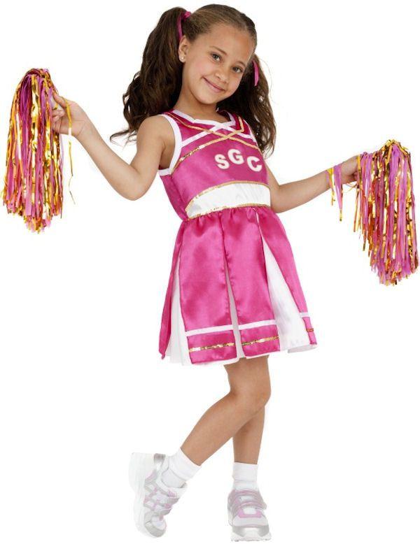 Snoezig Cheerleader Meisje Kostuum