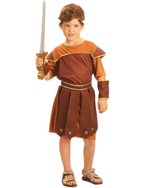 Romeinse Soldaat Tunica Jongen Kostuum