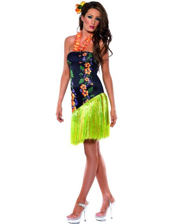 Fever Heerlijke Luau Hawaiaans Vrouw Kostuum