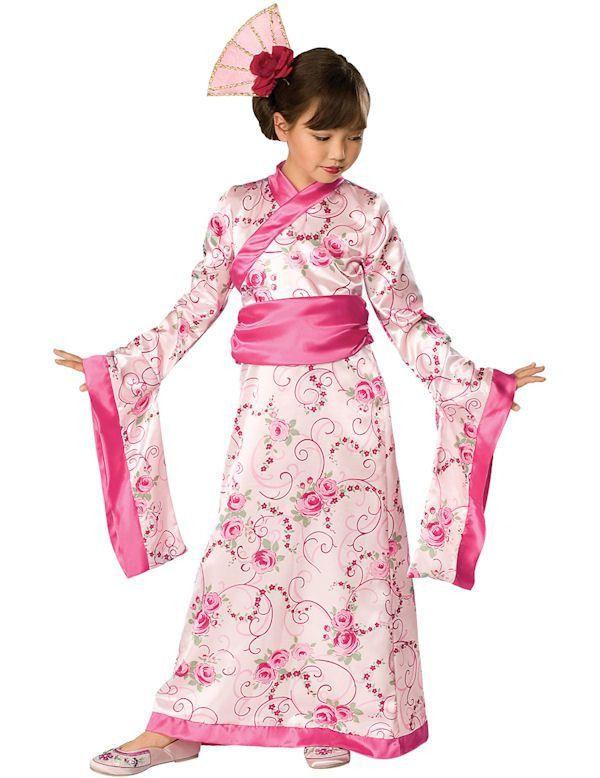 Geisha Prinses Meisje Kostuum