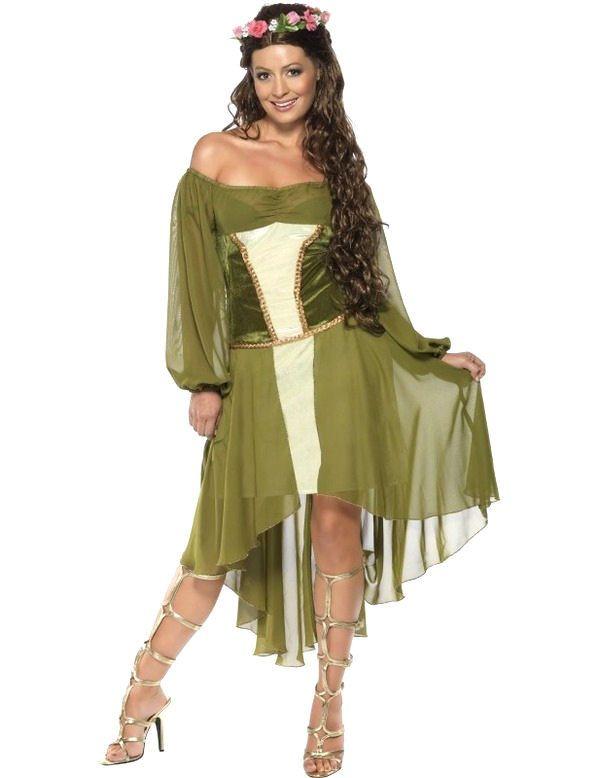 Mooie Meid Vrouw Kostuum