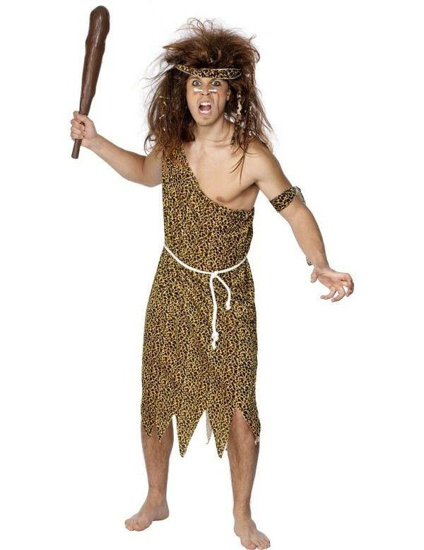 Prehistorisch Man Kostuum