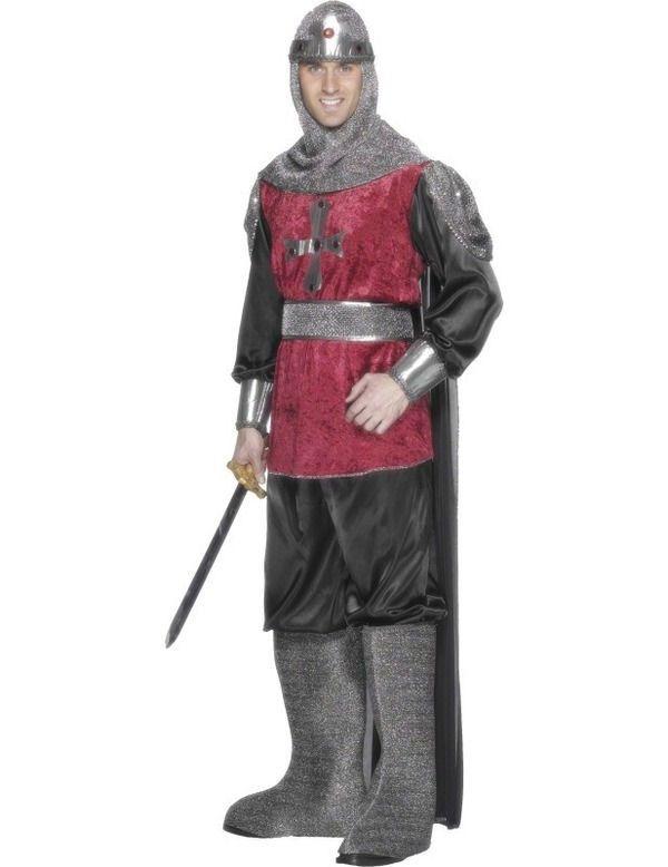 Middeleeuwse Ridder Man Kostuum
