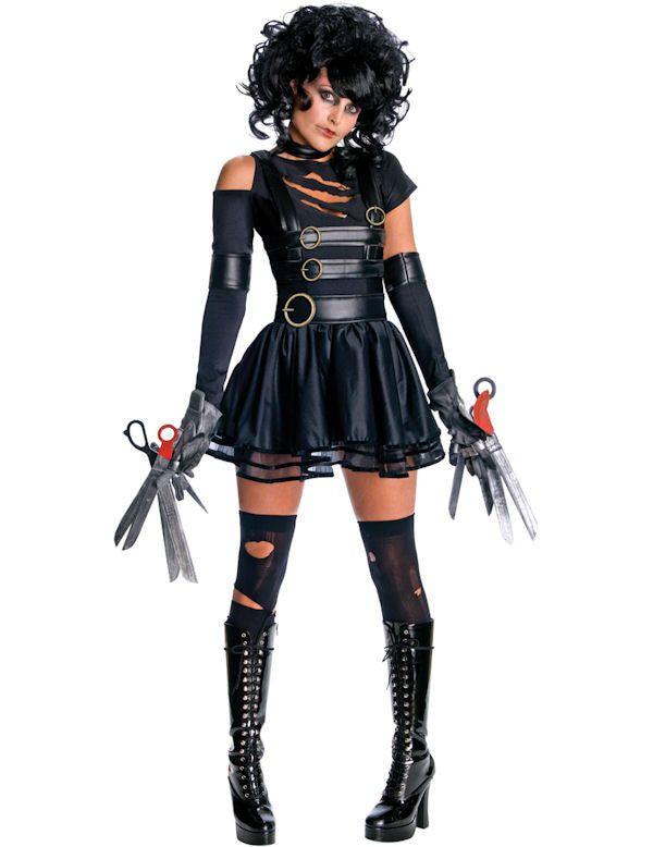 Miss Scissorhand Vrouw Kostuum