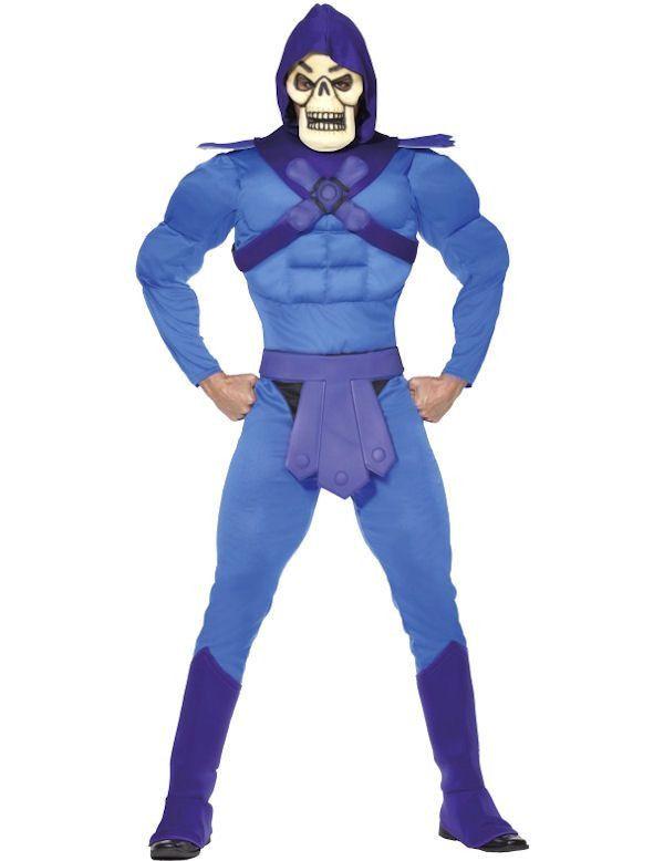 Jaren 80 Skeletor Man Kostuum