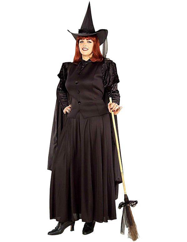 Klassieke Heks Maatje Meer Vrouw Kostuum