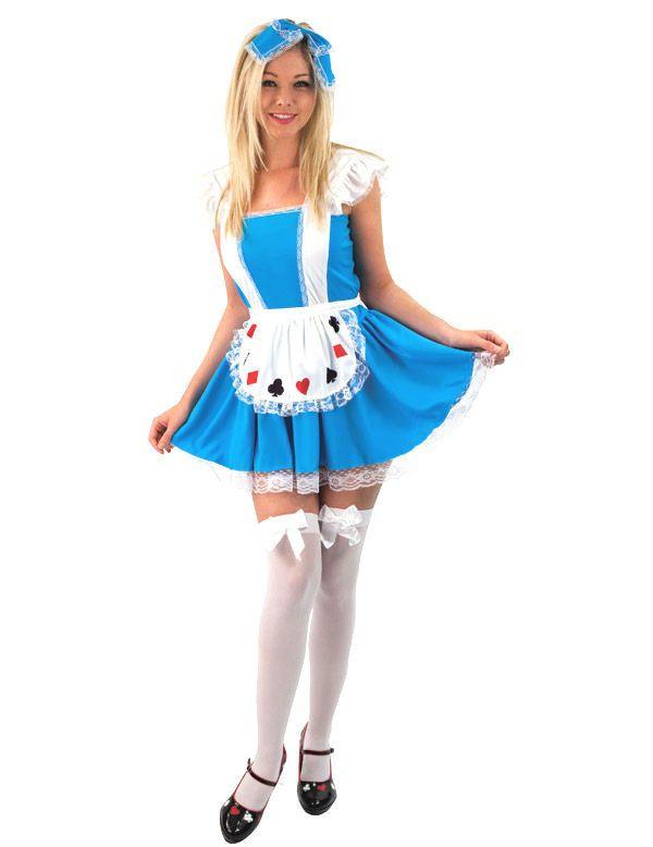Alice Vrouw Kostuum
