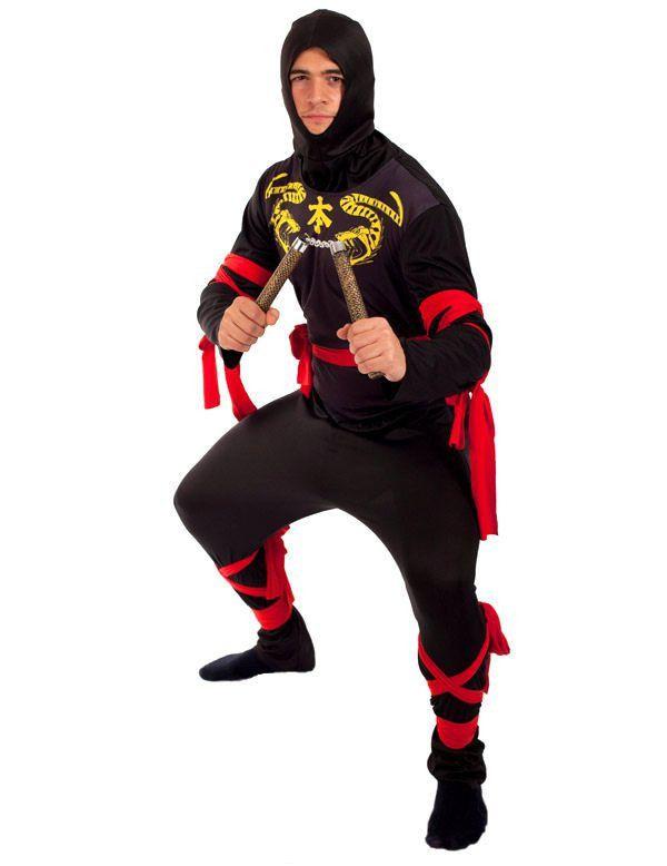 Ninja Man Kostuum