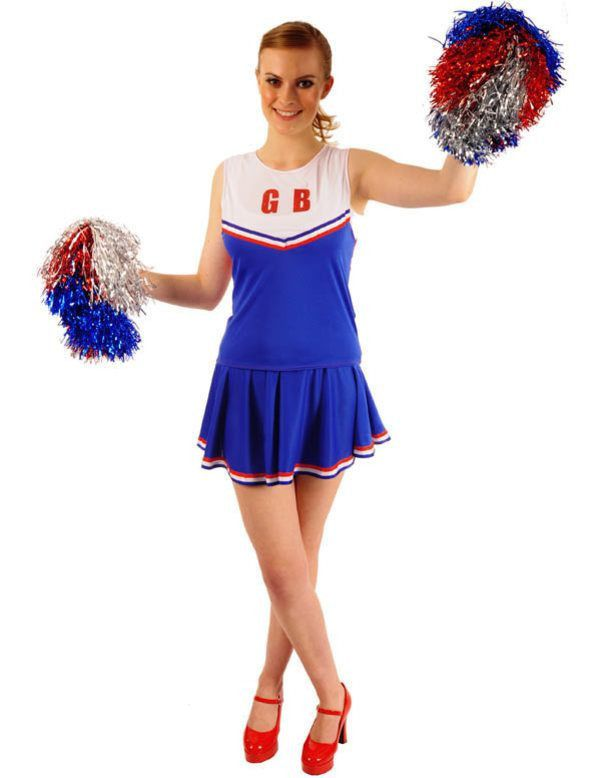 Cheerleader Outfit Vrouw
