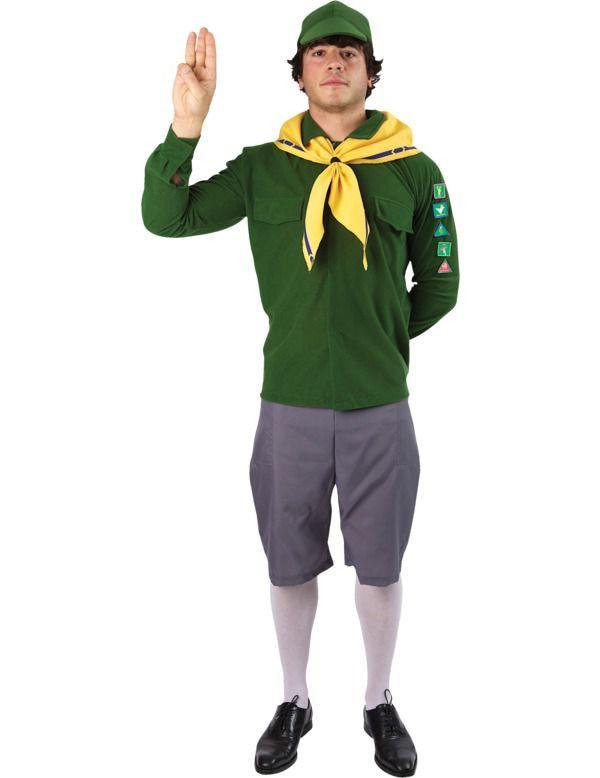Adventure Boy Man Kostuum