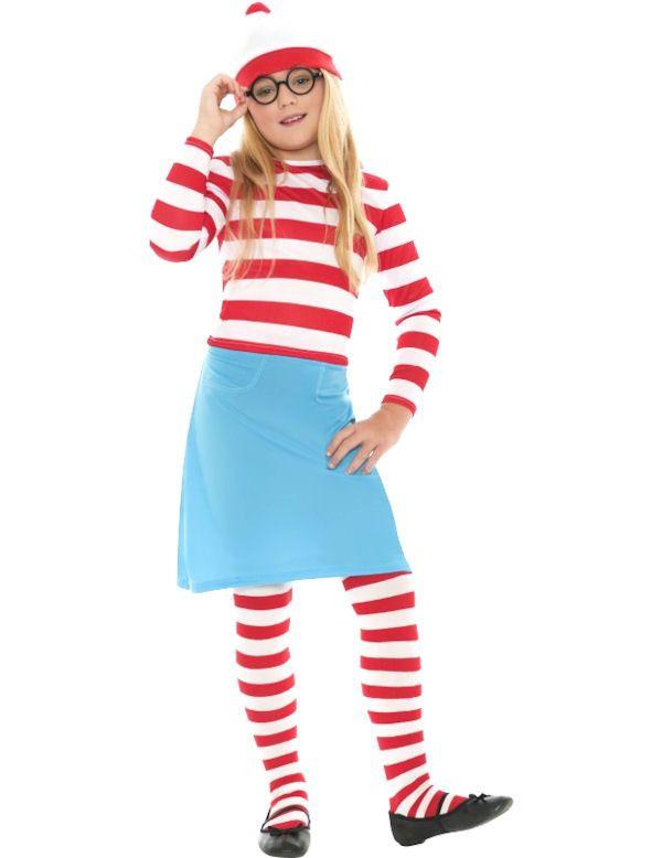 Kind Waar Is Wally Meisje Kostuum