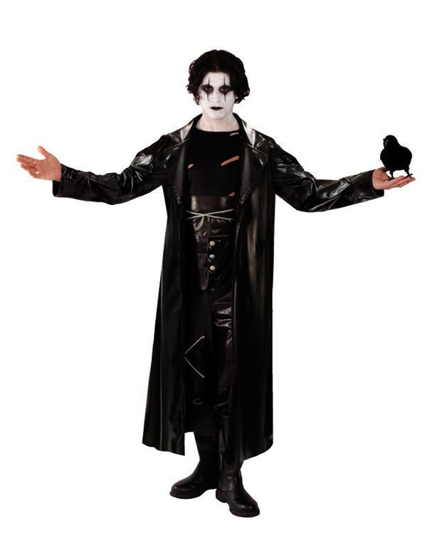 Gothic The Crow Avenger Man Kostuum