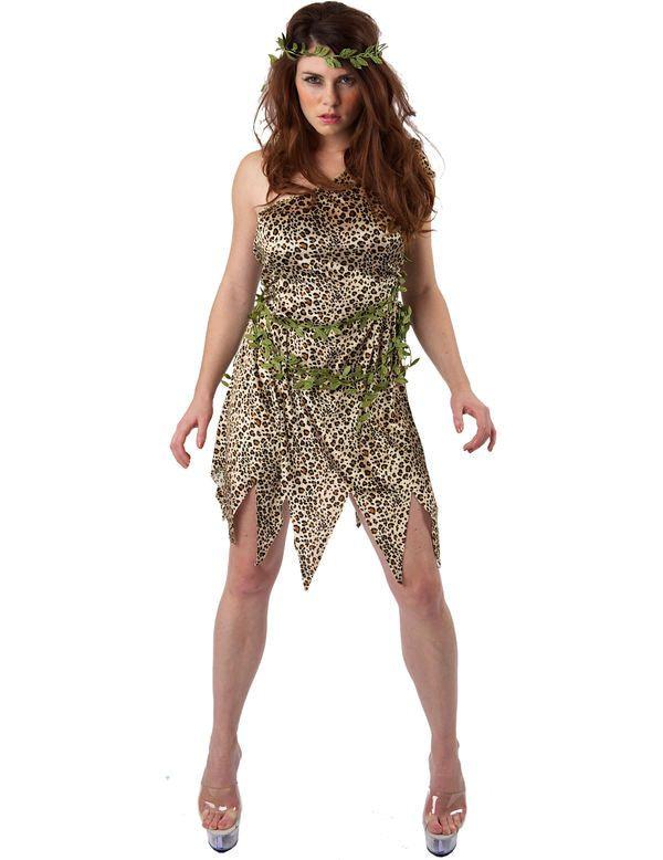 Jungle Jane Vrouw Kostuum