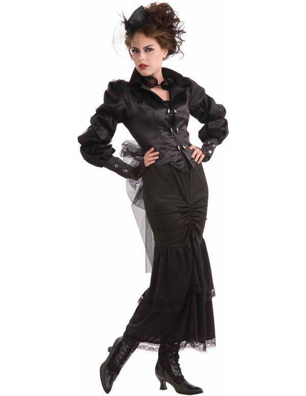 Steampunk Victoriaanse Dame Vrouw Kostuum