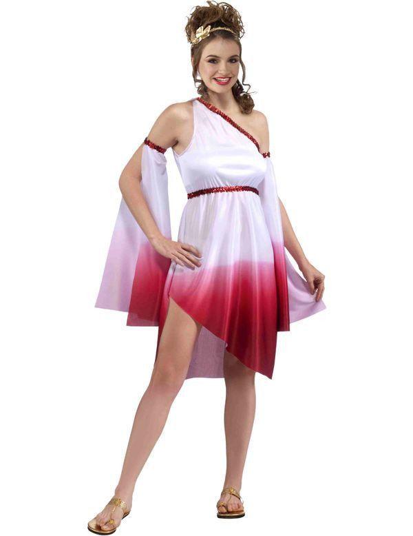 Tiener Griekse Dame Vrouw Kostuum