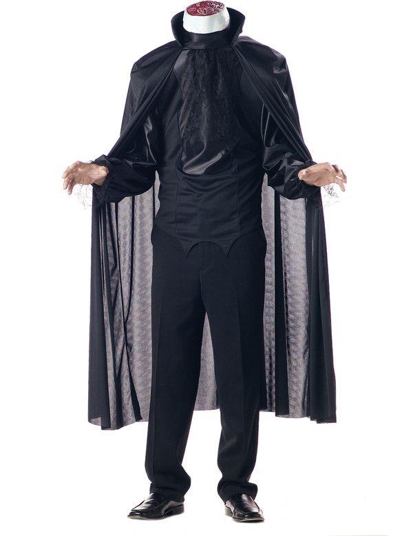 Spook Zonder Hoofd Man Kostuum