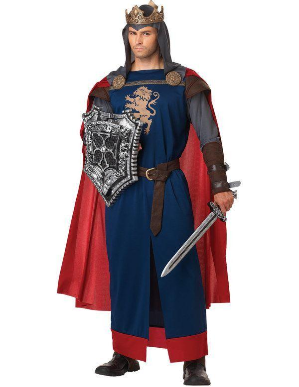 Richard The Lionheart Man Kostuum