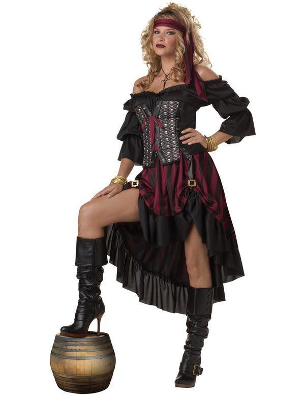 Hete Pirate Vrouw Kostuum